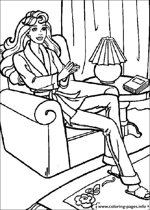 Barbie9 coloring pages