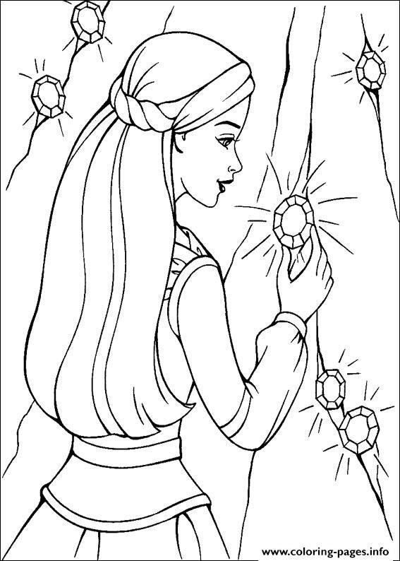 Barbie Magic Pegasus 18 Coloring Pages Print Download