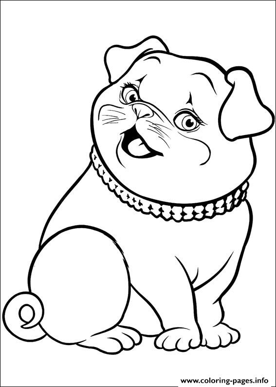 Barbie Thumbelina 25 coloring pages