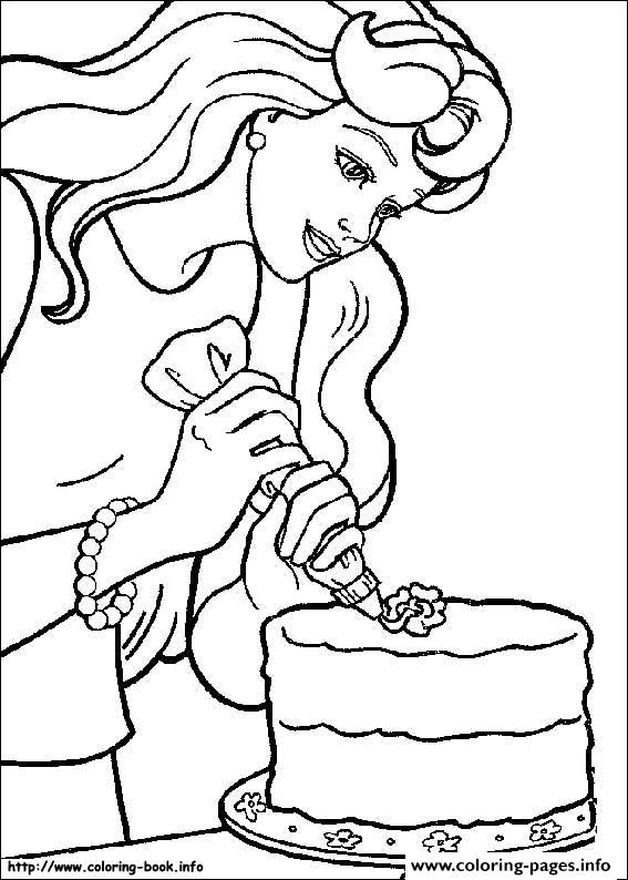 Barbie16 coloring pages