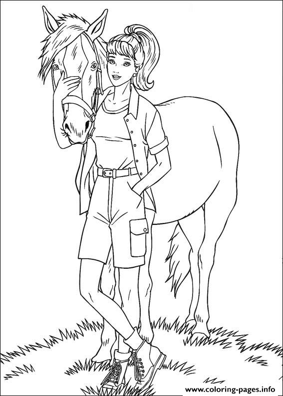 Barbie52 coloring pages