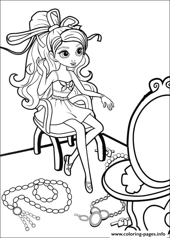 Barbie Thumbelina 27 coloring pages
