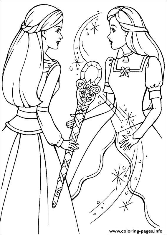 Barbie Magic Pegasus 20 coloring pages