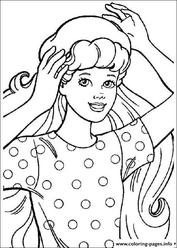 Barbie5 coloring pages