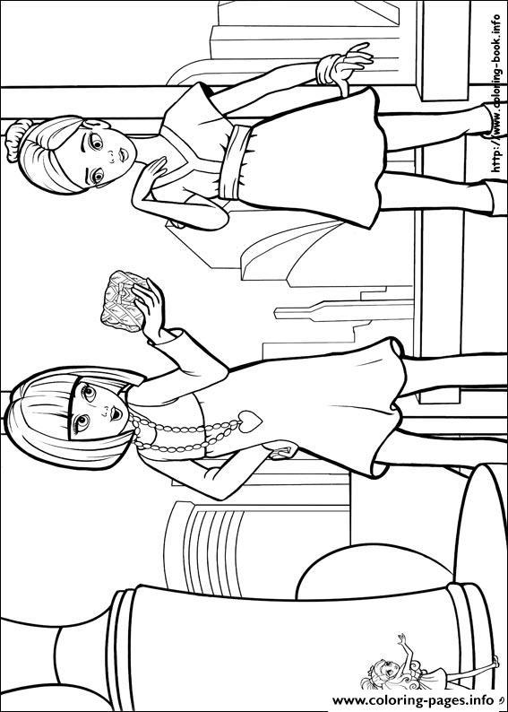 thumbelina disney coloring pages - Barbie Thumbelina 03 ... | 794x567