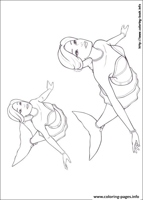 Barbie Mariposa 08 coloring pages