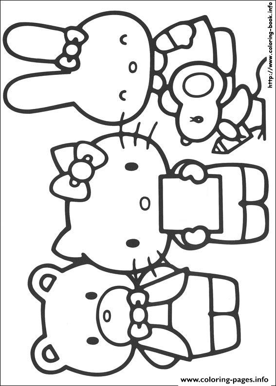 Hello Kitty 04 coloring pages