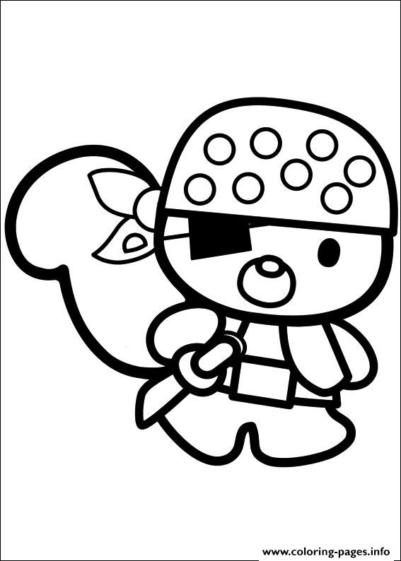 Hello Kitty 47 Coloring Pages Printable