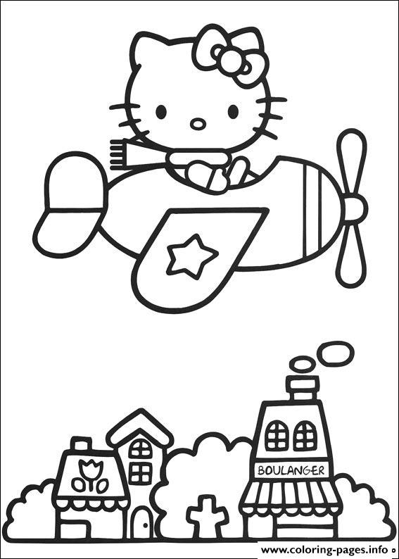 Hello Kitty 05 coloring pages