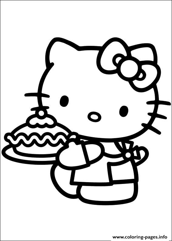 Hello Kitty 39 coloring pages