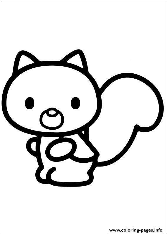 Hello Kitty 50 coloring pages