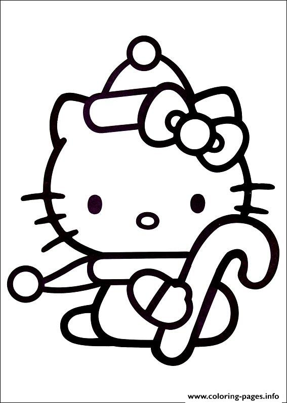 Hellokitty Christmas 02 Coloring Pages Print Download 338 Prints