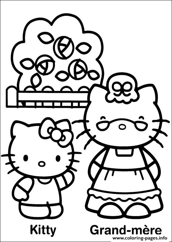Hello Kitty 23 coloring pages