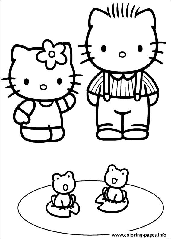 Hello Kitty 29 coloring pages