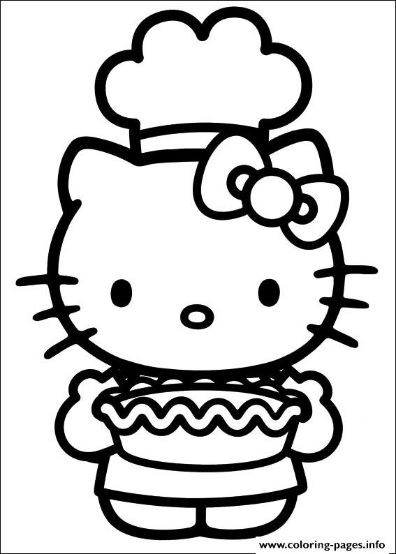 Hello Kitty 41 coloring pages