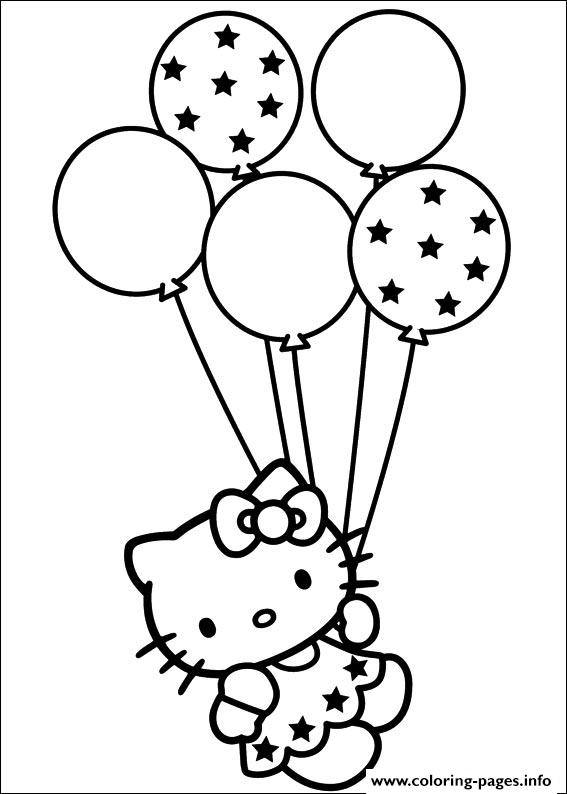 Hello Kitty 55 coloring pages