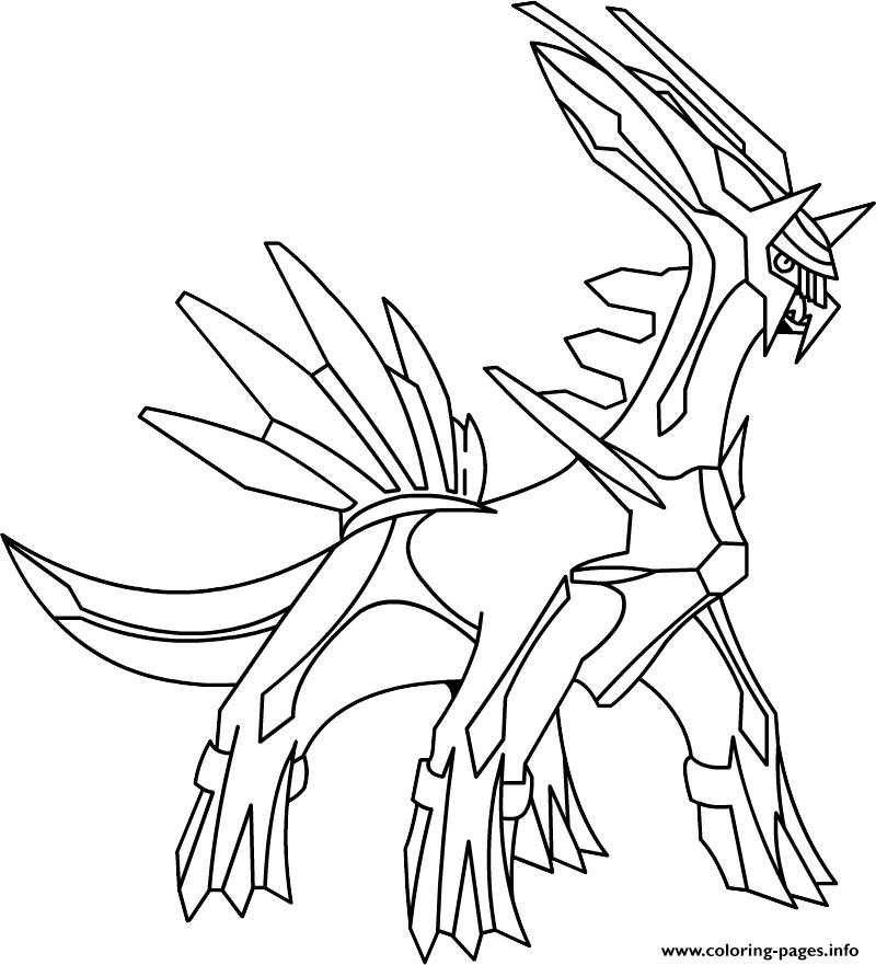 Pokemon X Ex 10 coloring pages