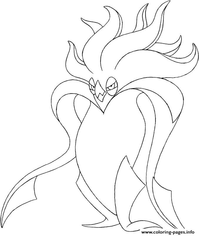 Pokemon X Ex 8 coloring pages
