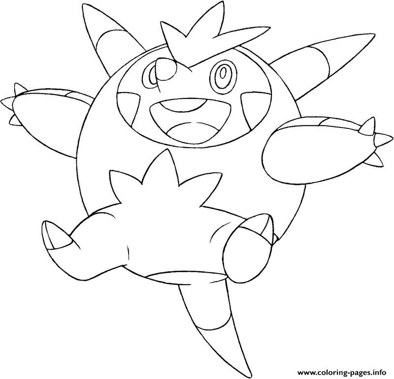 Pokemon X Ex 4 coloring pages