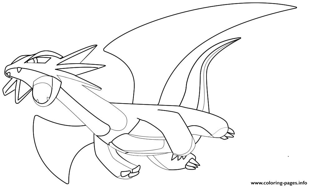 Pokemon X Ex 43 coloring pages
