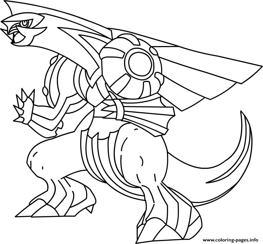 Pokemon X Ex 17 Coloring Pages Printable