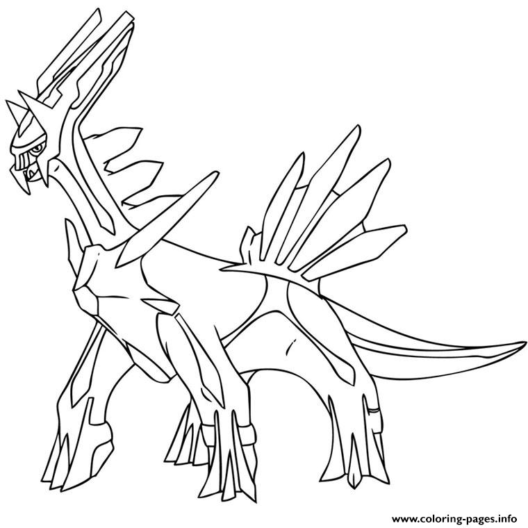 Pokemon X Ex 21 coloring pages