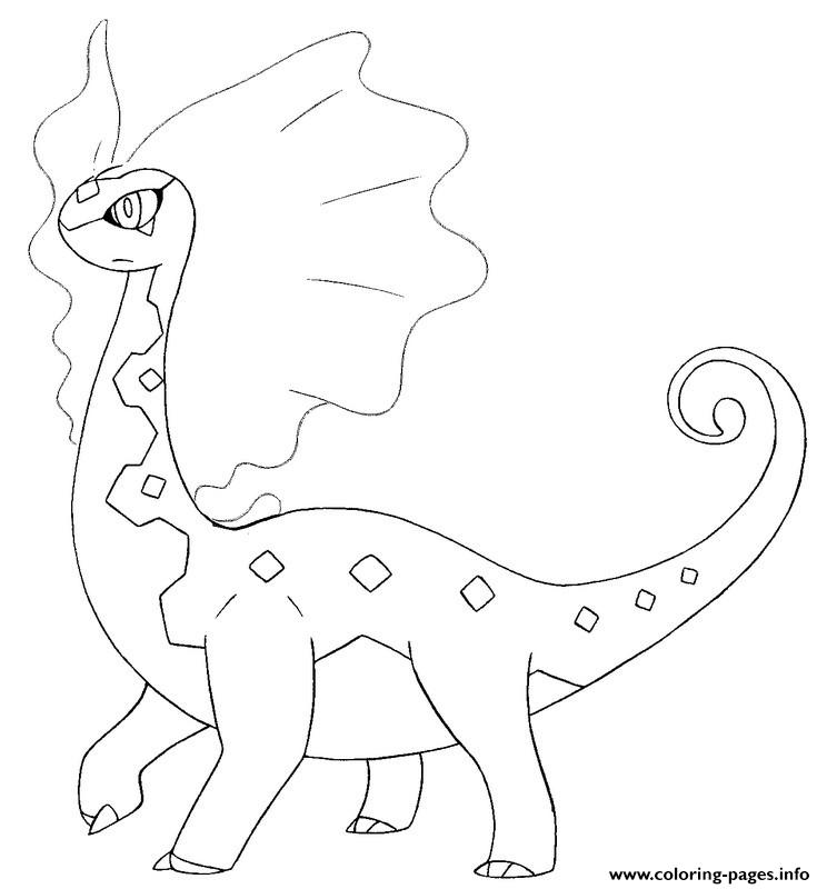 Pokemon X Ex 1 coloring pages