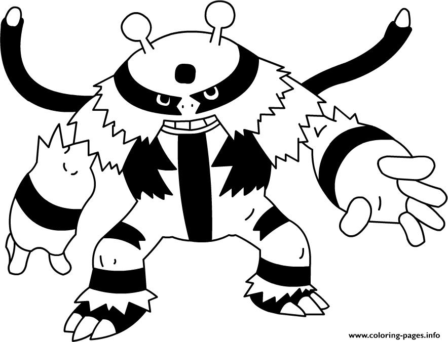 Pokemon Mega Evolutions Coloring Coloring Pages