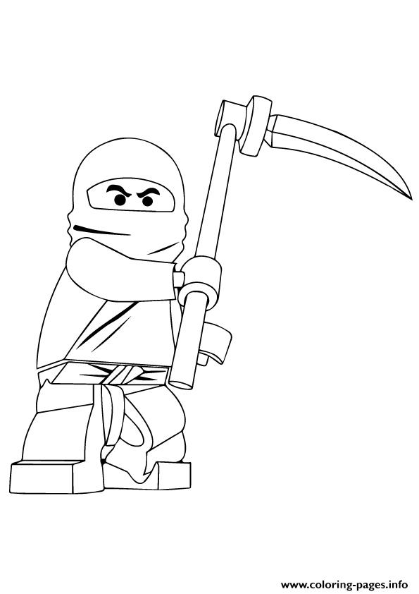 Ninjago Cole Coloring Pages Printable
