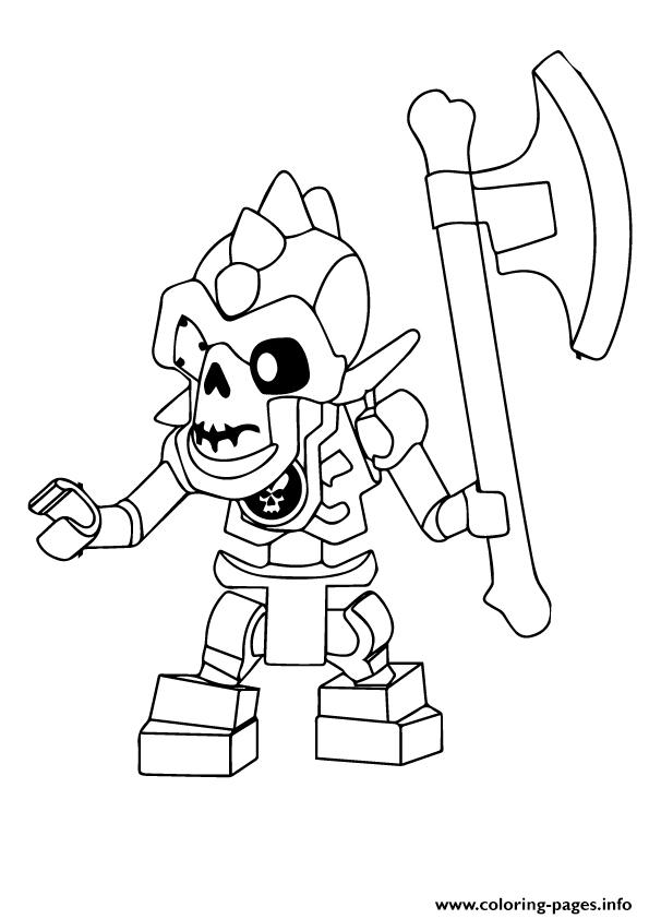 Ninjago Nuckal coloring pages