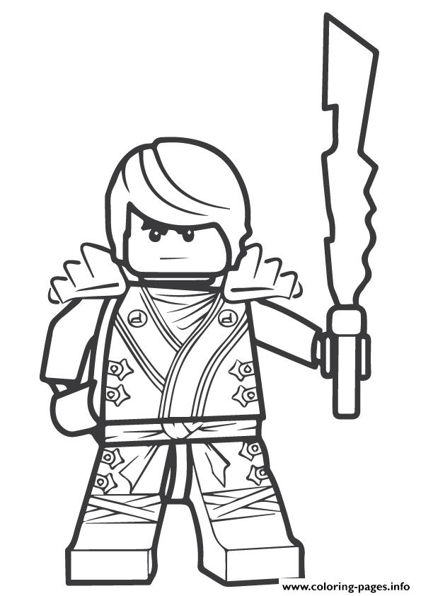 Ninjago Sensei Garmadon coloring pages