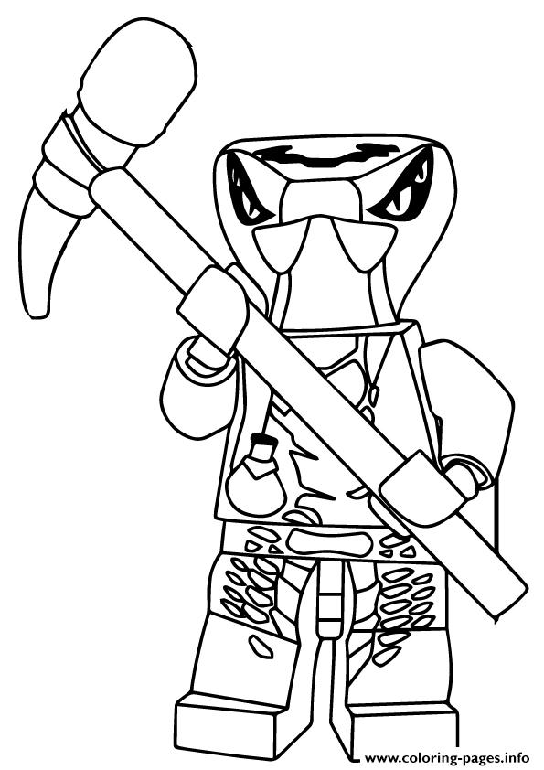 Ninjago Spitta Coloring Pages Printable