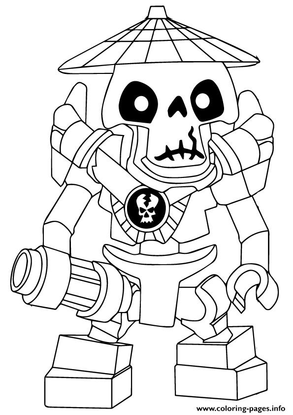 Ninjago Wyplash Coloring Pages Printable