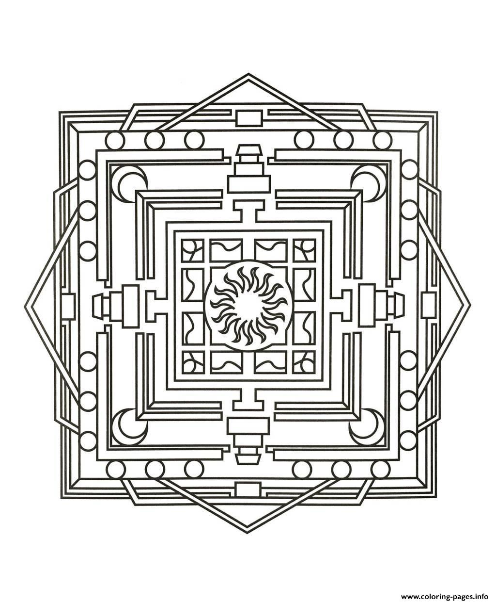 Mandalas To Download For Free 3  coloring pages