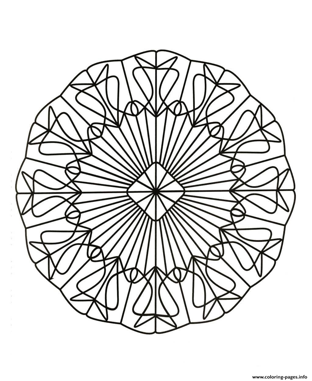 Mandalas To Download For Free 2  coloring pages