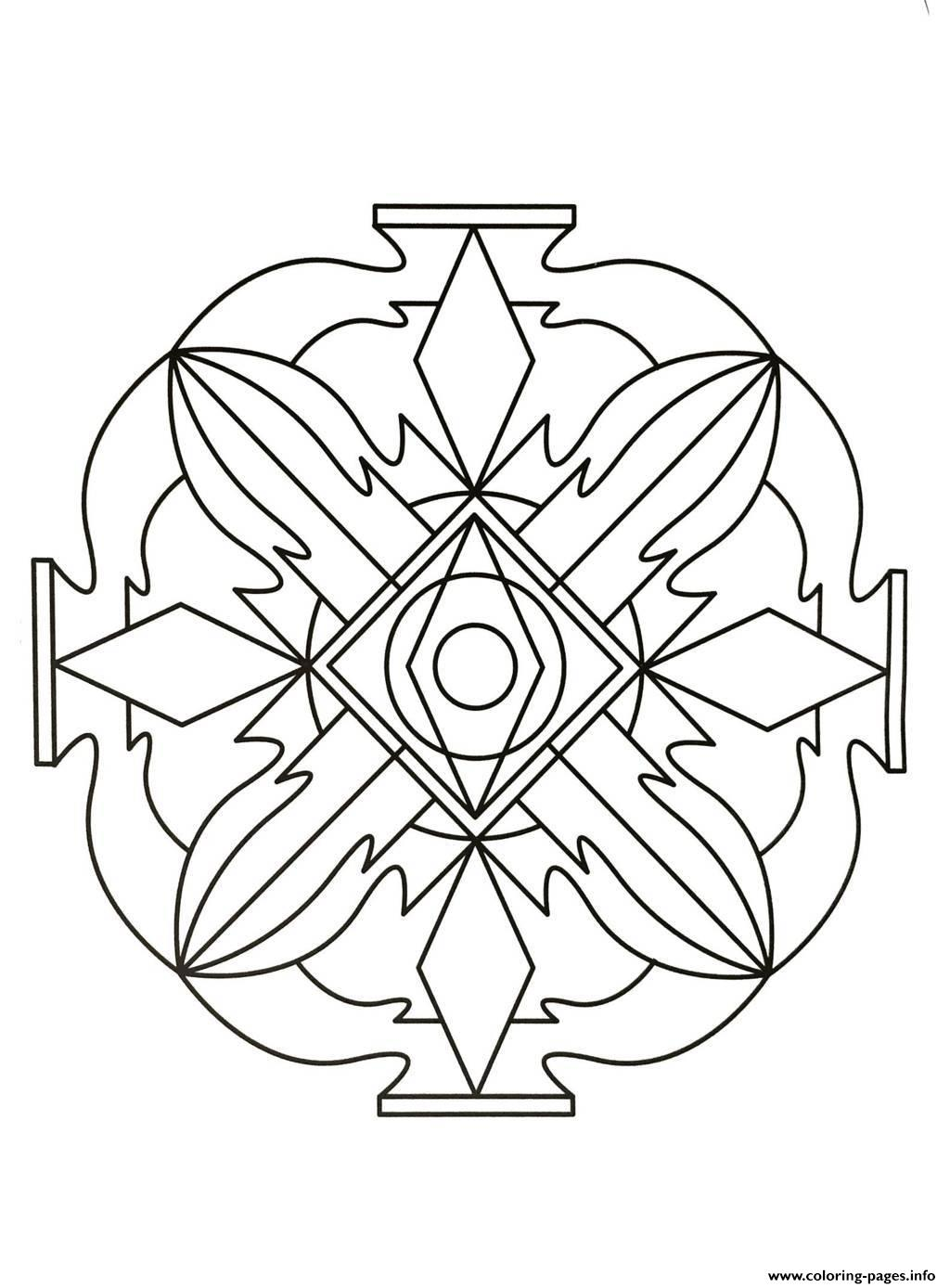 Mandalas To Download For Free 6  coloring pages