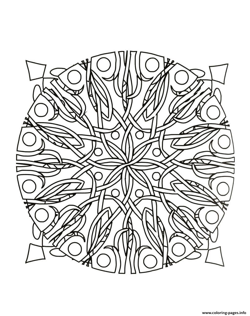 Mandalas To Download For Free 1  coloring pages