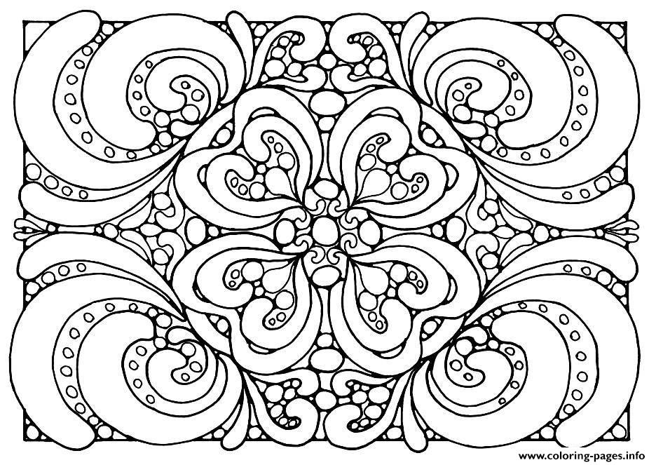 Adult Patterns coloring pages