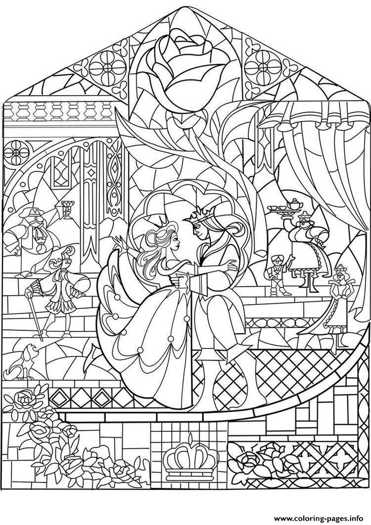 Adult Prince Princess Art Nouveau Style Coloring Pages Princess Coloring Pages For Adults Printable
