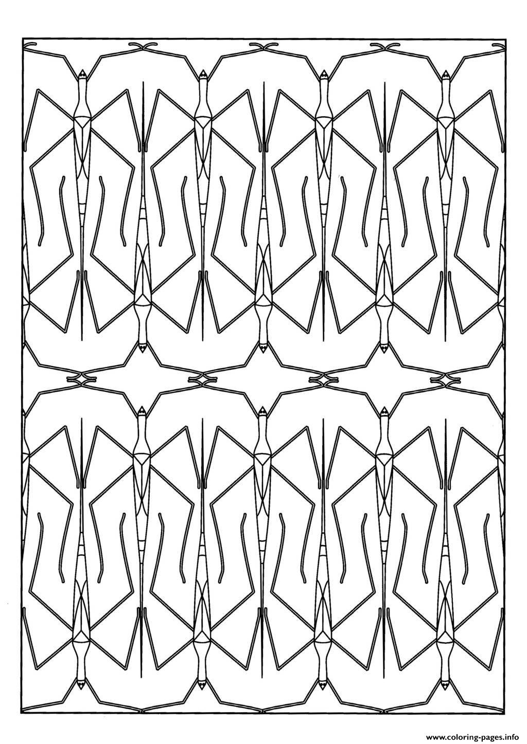 Adult Stick Insect Coloring Pages Printable