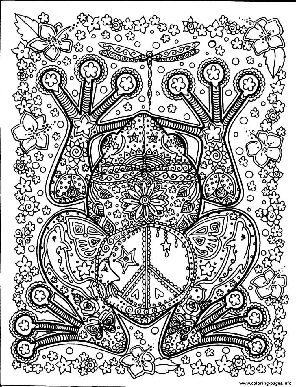 large coloring pages for adults - photo#34