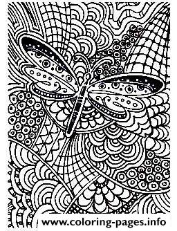 Adult Difficult Butterfly 15 Coloring Pages Printable