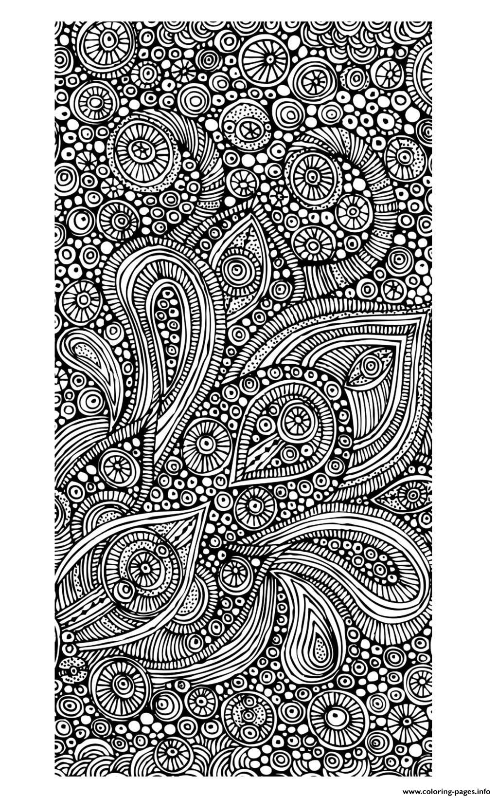 Adult Zen Anti Stress To Print 10 coloring pages