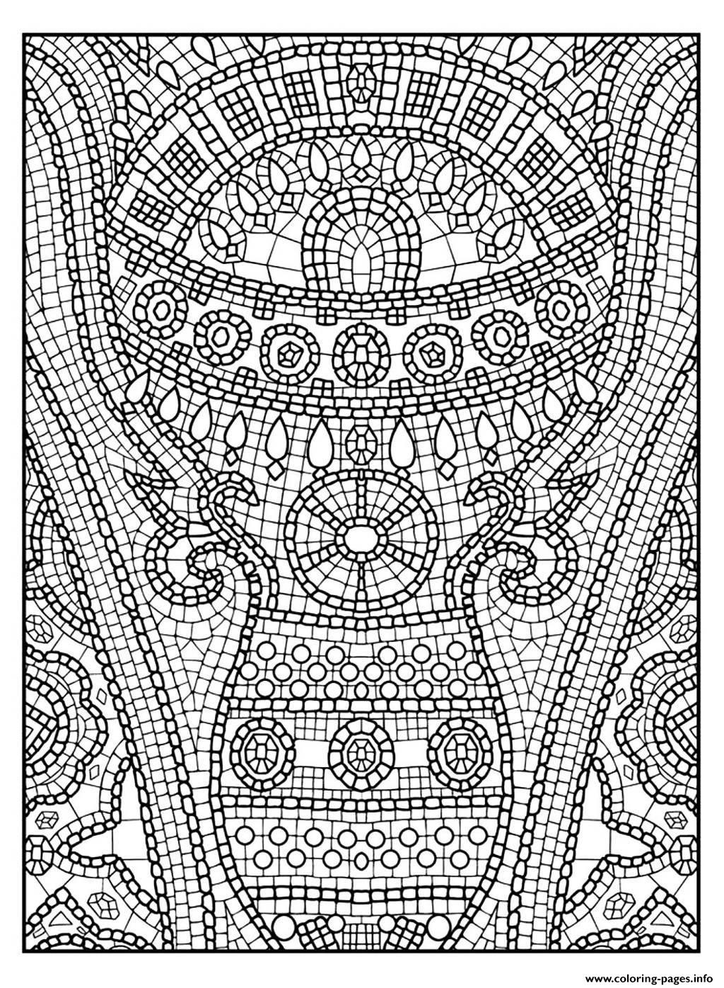 Adult Zen Anti Stress To Print 11 Coloring Pages Printable