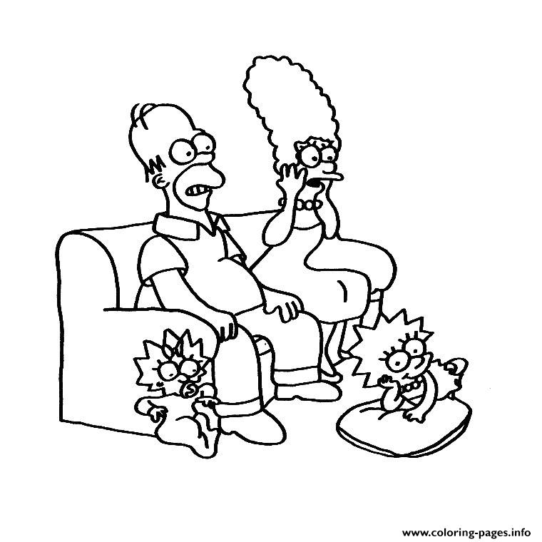 Simpson Tv coloring pages