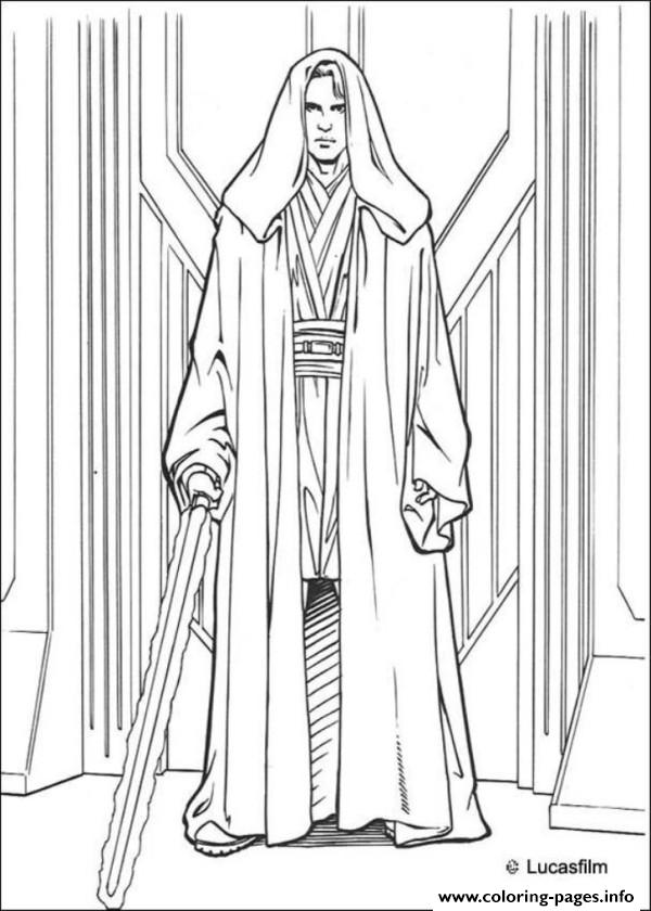 Star Wars Anakin Skywalker coloring pages