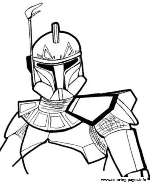 star wars rex Coloring pages Printable
