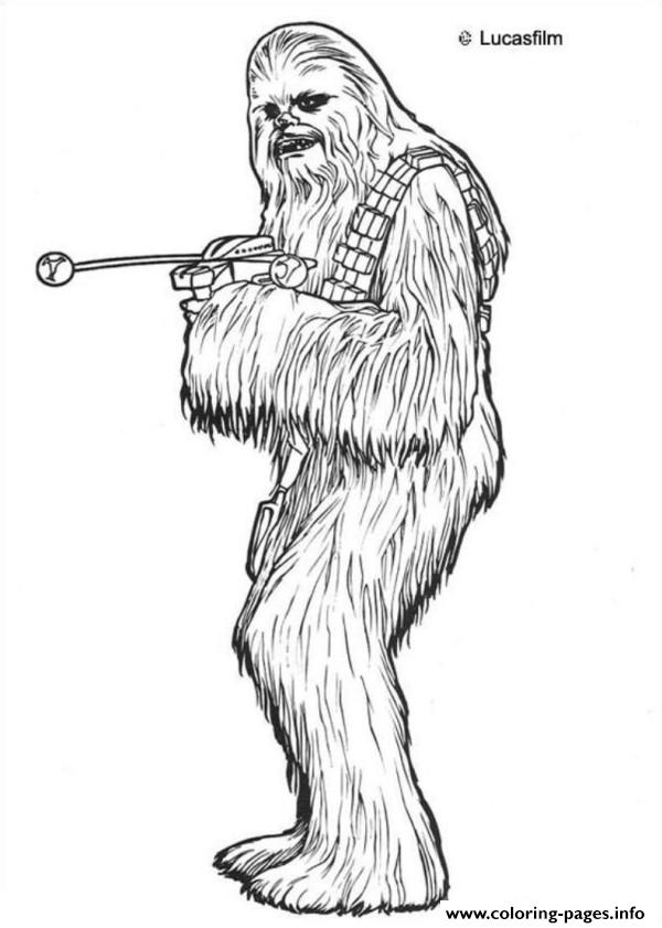 chewbacca coloring pages Star Wars Chewbacca Coloring Pages Printable chewbacca coloring pages