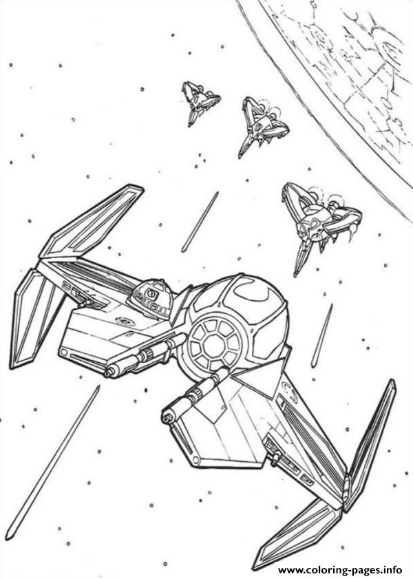 Star Wars Gunship coloring pages