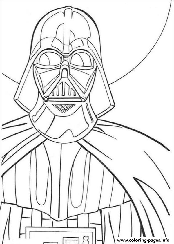 Star Wars Darth Vader Coloring Pages Printable